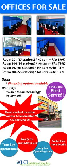 Complete Call Center For Sale! Do you want to run your own Call Center but don't have the time to wait? You don't have enough money to build your own Center? Well this is for you! Prices are negotiable. All are ready for operations. Waiting For You, First They Came, Places To Visit, Technology, Money, Tech, I Wait For You, Silver, Tecnologia