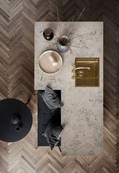 New Nordic Shaker Kitchen Unoform, elsker utforming på denne kjøkkenøya Villa Design, Küchen Design, House Design, Design Hotel, Design Ideas, Hotel Bathroom Design, Dining Room Design, Interior Design Kitchen, Interior Decorating