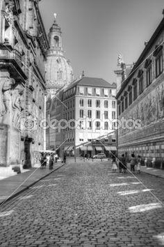 #Lizenzfrei #downloaden... #Royalty-free #download ... #Dresden #Saxonia - #Fürstenzug — #Stockfoto © #Peter-#andre' #Sobota #22167941