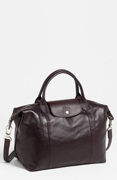 402191075585 Free shipping and returns on Longchamp  Le Pliage Cuir  Leather Handbag at  Nordstrom.
