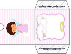 Envelope CD DVD Batizado Anjinha Afro