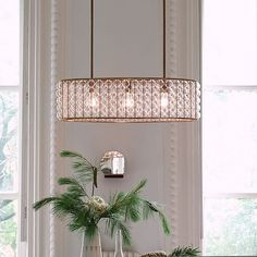 Marney Glass Chandelier, Oval, Antique Brass * I think this may be the one I pick to go over my dining table