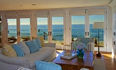 sea side living room