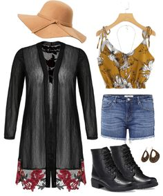 A plus size coachella inspired outfit inspirtion. Featuring items from SHEIN, Torrid, Payless, and more! Festival Chic, Coachella Festival, Festival Outfits, Fashion Advice, Fashion Outfits, Chic And Curvy, Person Of Color, Plus Size Jeans, Torrid
