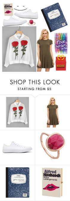 """""""Grandmas Birthday"""" by aline-sofia ❤ liked on Polyvore featuring Monica Vinader, Mead, Olympia Le-Tan and Moschino"""