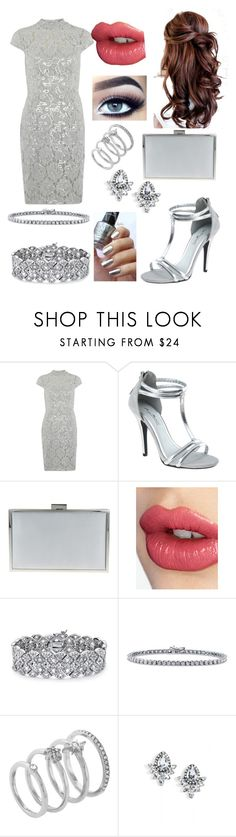 """Untitled #487"" by leftorright ❤ liked on Polyvore featuring Dorothy Perkins, Nina, Charlotte Tilbury, Palm Beach Jewelry, BERRICLE, Vince Camuto and EXTASY"