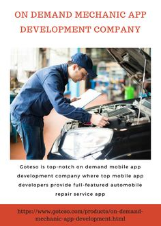 Goteso is on demand mechanic app development company which provides online roadside assistance delivery business software for your business. #OnDemandMechanicAppDevelopment #MechanicDeliveryAppDevelopment #MechanicAppDevelopmentCompany