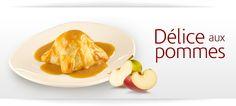 Délice aux pommes   St-Hubert http://www.st-hubert.com/emploi/restauration/emploi-restauration.fr.html