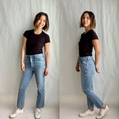 Denim Trends We Can Get Behind Mom Jeans, Skinny Jeans, How To Look Skinnier, Denim Trends, Muffin Top, Normcore, Legs, Canning, Pants