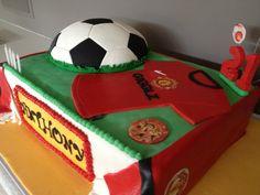 Bilderesultat for manchester united cake