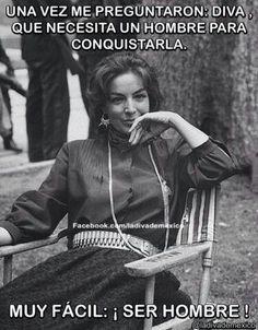 Maria Félix #frase #hombre #conquistar