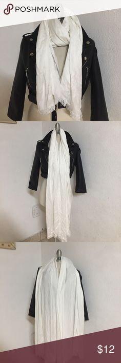 Soft long scarf New with very small stain but not noticeable plus should come out with cleaning. nordstrom rack Accessories Scarves & Wraps