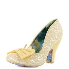 Womens Irregular Choice Nick of Time Yellow Heeled Court Shoes SZ SIZE in Clothes, Shoes & Accessories, Women's Shoes, Heels | eBay