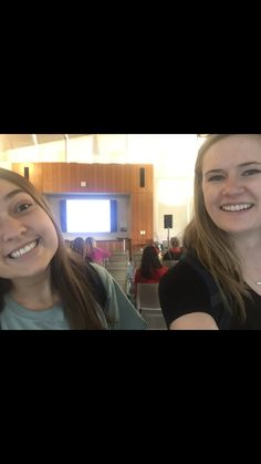 """This is a pic of us at Jennifer Lawless, speaking on """"Why Women Don't Run for Office and What happens When they do"""" This relates back to our class because in chapter 9 we talked about women in politics and the things they go through to get into office."""