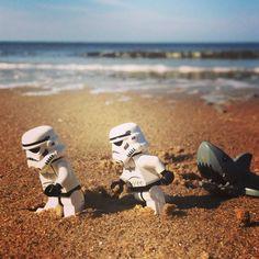Theme Star Wars, Star Wars Fan Art, Lego Star Wars, Aniversario Star Wars, Lego Pictures, Lego Pics, Lego Stormtrooper, Cuadros Star Wars, Super Troopers