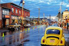 "Steveston, BC- the Main Street setting for Storybrooke in ""Once Upon a Time"""