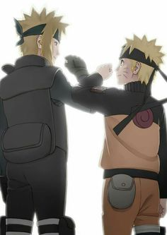 Minato & Naruto   Father and Son
