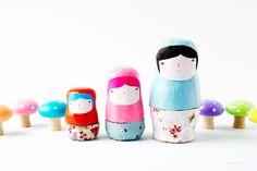How-To: DIY Nesting Dolls