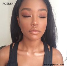 67 Ideas Makeup Looks Dark Skin Natural Dark Skin Makeup, Natural Makeup, Eye Makeup, Simple Makeup, Matte Makeup, Cheap Makeup, Makeup Cosmetics, Beauty Make-up, Beauty Hacks