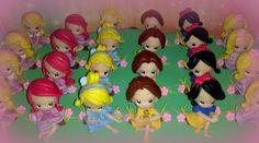 Princesas Disney en porcelana feria | Souvenirs Princesas Bebe Disney 1 Añito Porcelana Fria - $ 150,00 en ...