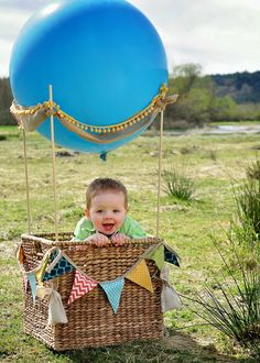PjKirkwood Photography: Up, up and away! ~First birthday shoot