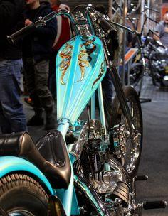 Harley Davidson Chopper old school