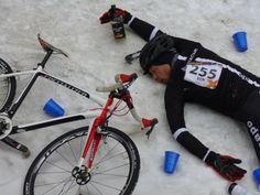 10 ways cyclocross is like drinking.
