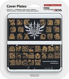 Nintendo New 3DS Cover Monster Hunter 4 Ultimate