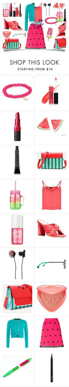 """Gime me a smile"" by j477 on Polyvore featuring мода, Sydney Evan, Manna Kadar Cosmetics, Bobbi Brown Cosmetics, Grown Alchemist, Topshop, Benefit, Loeffler Randall, Forever 21 и Alice + Olivia"