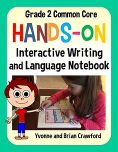Interactive Writing and Grammar Notebook for Second Grade - 132 pages!$