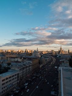 Moscow (View from Time Out Bar)