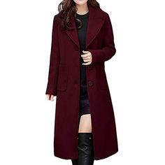 GOVOW 2018 Faux Fur Wool Coat Men Warm Winter Long Hood Coat Jacket Unisex Women Men Outdoor
