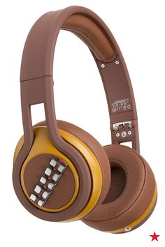 Combine your love of Star Wars and your music obsession with these epic Chewbacca headphones.