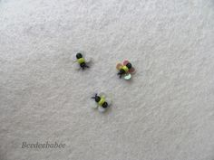adorable, easy to make bees from Beedeebabee.blogspot.com