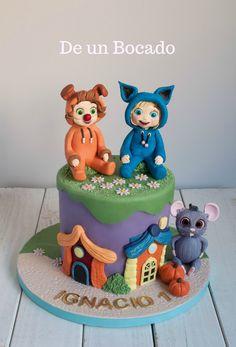 Tarta infantil Dave y Ava /Dave and Ava cake