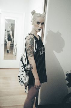 alysha:  alysha nett / teek the sneak / makeup & hair melissa abad jersey by mishkabackpack by o-mighty