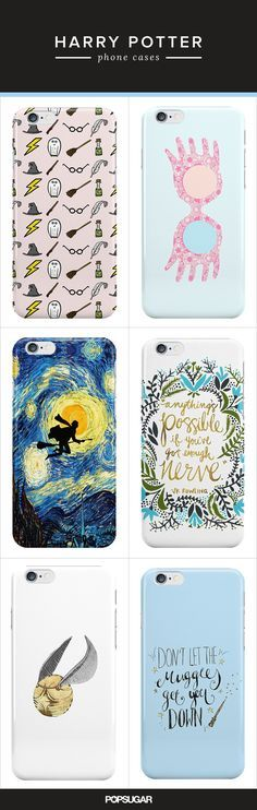 Harry Potter Fans Will Freak Over These Phone Cases -yes yes we will!!!!!!!!
