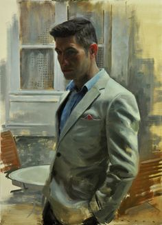 Men Painting Men - January 2015 Catto gallery, London | Silent Dialogue by Aldo Balding
