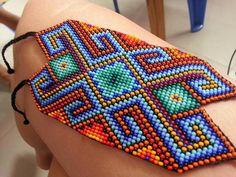 Native American Crafts, Native American Beading, Beading Projects, Beading Tutorials, Bead Loom Patterns, Divine Feminine, Loom Beading, Bead Art, Loom Bracelets