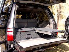 Slee - SUV Storage Drawer System Details