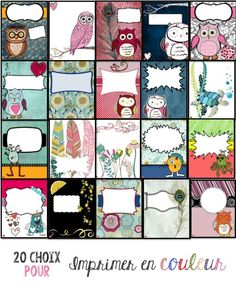 Choix de pages couvertures du Planificateur de l'enseignant à personnaliser, Par Profs et Soeurs