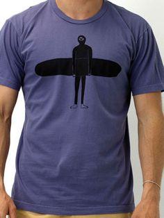 "Mollusk Surf Shop. Nathaniel Russell ""Lurker"" T-shirt"