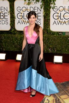 Sandra Bullock - Love the Dress!! I think people were so critical over what celebs where!! Wtf! Get a life people!!!