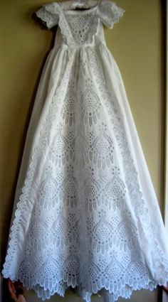 Antique christening | Antique Christening Gowns. Absolutely fantastic! circa 1880s.
