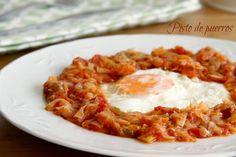 Pisto de puerros Sin Gluten, A Food, Macaroni And Cheese, Veggies, Healthy Recipes, Healthy Food, Ethnic Recipes, Blog, Profiteroles