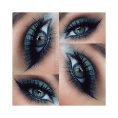 20 Blue Eyes Makeup Tutorials for 2015 ❤ liked on Polyvore featuring beauty products, makeup, eye makeup, blue eye makeup and blue makeup