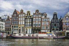 Amsterdam is the capital city of the Netherlands. It is known throughout the world as one of the biggest small cities worldwide. Visit Amsterdam, Amsterdam City, Travel Workout, Boat Tours, Live In The Now, Time Travel, Cool Places To Visit, Travel Photos, Travel Tips