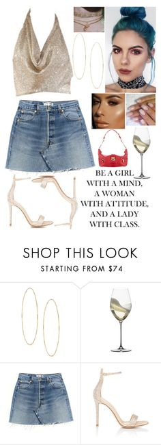 """""""""""To live is the rarest thing in the world. Most people just exist.""""- Oscar Wilde"""" by jacie ❤ liked on Polyvore featuring Frasier Sterling, Lana, Riedel, Gianvito Rossi and Louis Vuitton"""