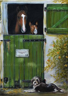 Lukasz Gauza ~ Art of the Horse - oil on canvas 70cm-50cm ❤