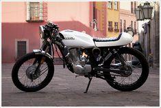 CRQ Cycles' Honda CGL125 Café Racer | Pipeburn.com